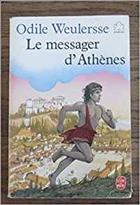 Couverture Le messager d'athenes
